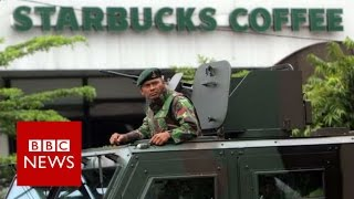 Jakarta Attack: How assault on city unfolded