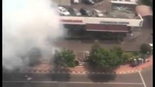 Jakarta Under Attack: RAW Footage of Explosions Hitting the Capital of Indonesia