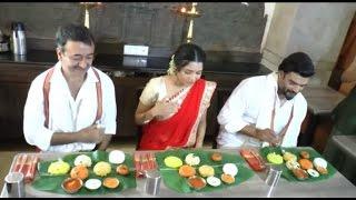 Team Saala Khadoos Feasting On Traditional Pongal Breakfast