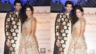 Katrina Kaif Shows Of Her $exy Abs, Walks Ramp With Aditya Roy Kapur