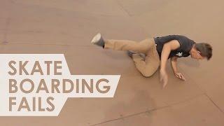 Skateboarding Fails - Funny Skateboarding Fails