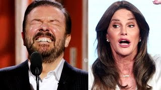 "Ricky Gervais & Caitlyn Jenner Twitter War: Ricky Fires Back at ""Sacred Cow"""