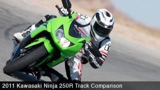 Track Comparo: Kawasaki Ninja 250R