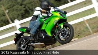 First Ride: Kawasaki Ninja 650