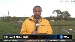 Deadly twister slams Florida