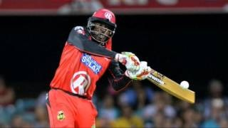 Chris Gayle smashes 50 off 12 balls, equals Yuvraj Singh's T20 Record