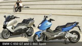 BMW C 600 Sport and C 650 GT Scooters