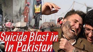 Pakistan suicide bombing 'kills 10' in Peshawar