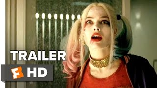 Suicide Squad Official Trailer #1 (2016) - Jared Leto, Margot Robbie Movie HD