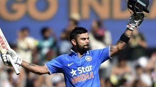 Virat Kohli 106 off 98 balls vs Australia 2016 - Ind vs Aus 4th ODI 2016