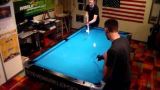 2 Man Pool Trickshots feat. Steve Markle