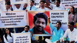 Hyderabad university revokes suspension of students after Dalit suicide