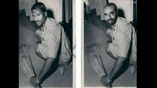 PM Modi's photo sweeping floor was a fake?