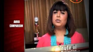 Why To Avoid Comparison - Rita Gangwani (Personality Architect) - Minute Of Motivation