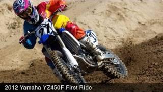 Yamaha YZ450F at Glen Helen