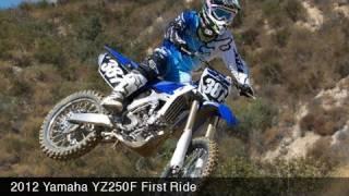 Yamaha YZ250F at Glen Helen