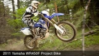 Yamaha WR450F Project Bike