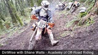 Dirtwise with Shane Watts School