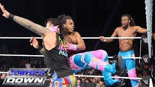Dolph Ziggler & The Usos vs. The New Day: WWE SmackDown, Jan. 21, 2016