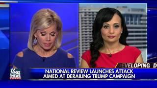 Trump spokesperson responds to National Review's criticism
