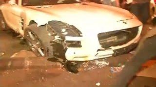 Mumbai: Speeding Mercedes ran over five people, driver arrested