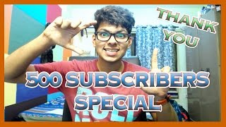 500 Subscribers Special!!! | Changes On Channel | Golden Words | Resolution 2016