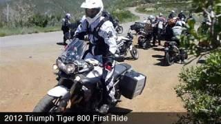Triumph Tiger 800 First Ride