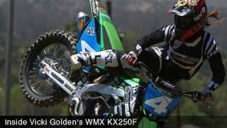 Vicki Golden's Kawasaki KX250F