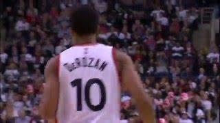NBA: DeMar DeRozan Leads Raptors with 33 Points