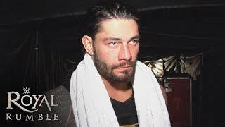 Roman Reigns is visibly shaken as Triple H is crowned WWE World Heavyweight Champion: Jan. 24, 2016