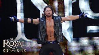 WWE Network: AJ Styles makes his WWE debut: Royal Rumble 2016