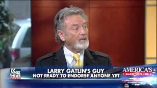 Larry Gatlin explains who he'd support for presiden