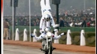 67th Republic Day: Army Corps 'Daredevils' mesmerise with stunts