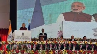 PM Modi's address at the inauguration of International Solar Alliance Secretariat in Gurgaon