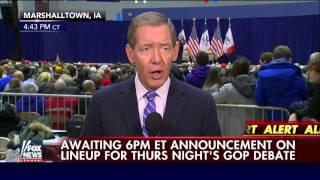 Carl Cameron previews Thursday's  GOP debate