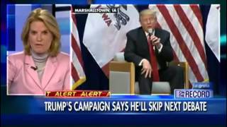 The Whole Donald J. Trump and Megyn Kelly Drama and Skipping of Fox News Debate