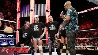 "Flo Rida battle raps ""Bo Rida"": WWE Raw, January 25, 2016"