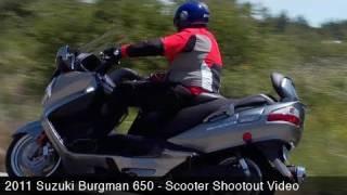 Scooter Shootout: Suzuki Burgman 650