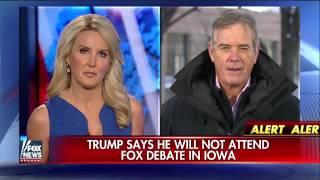 Trump says he will not attend Fox News debate in Iowa