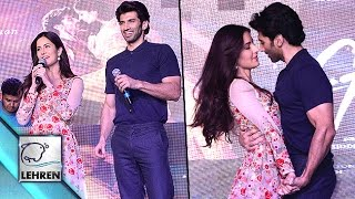 Katrina Kaif & Aditya Roy Kapur Promote 'Fitoor' At NM College