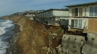 El Niño Cliff Erosion Puts Calif. Homes at Risk