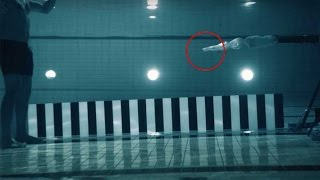 Scientist fires gun at himself underwater for experiment, shoots video