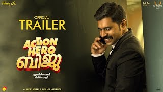 Action Hero Biju Official Trailer HD With Subtitles | Nivin Pauly| Abrid Shine