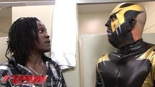 R-Truth has a weird encounter with Goldust in the bathroom: WWE Raw, February 1, 2016
