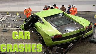 CAR CRASHES COMPILATION - SCARY CAR FAILS & CRASH !!