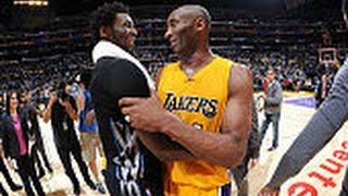 NBA: Andrew Wiggins and Kobe Bryant Duel in Los Angeles