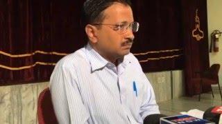 Arvind Kejriwal's Press Conference on MCD strike from Bangalore