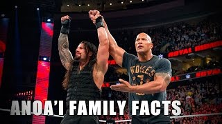 5 things you didn't know about the Anoa'i family: 5 Things