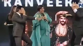 Farooq Abdullah Dances with Ranveer Singh