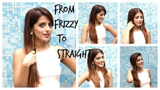 How To: Straighten Your Hair Perfectly With A Hair Straightener| Flat Iron